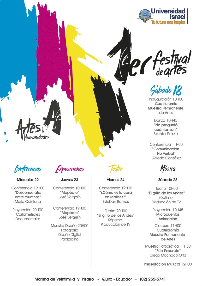 festival de arte, Cuatricromía, UISRAEL