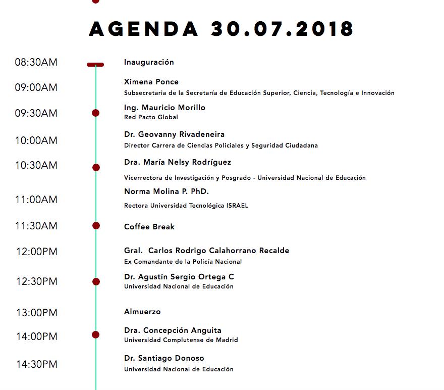 Agenca CIMCSE 2018
