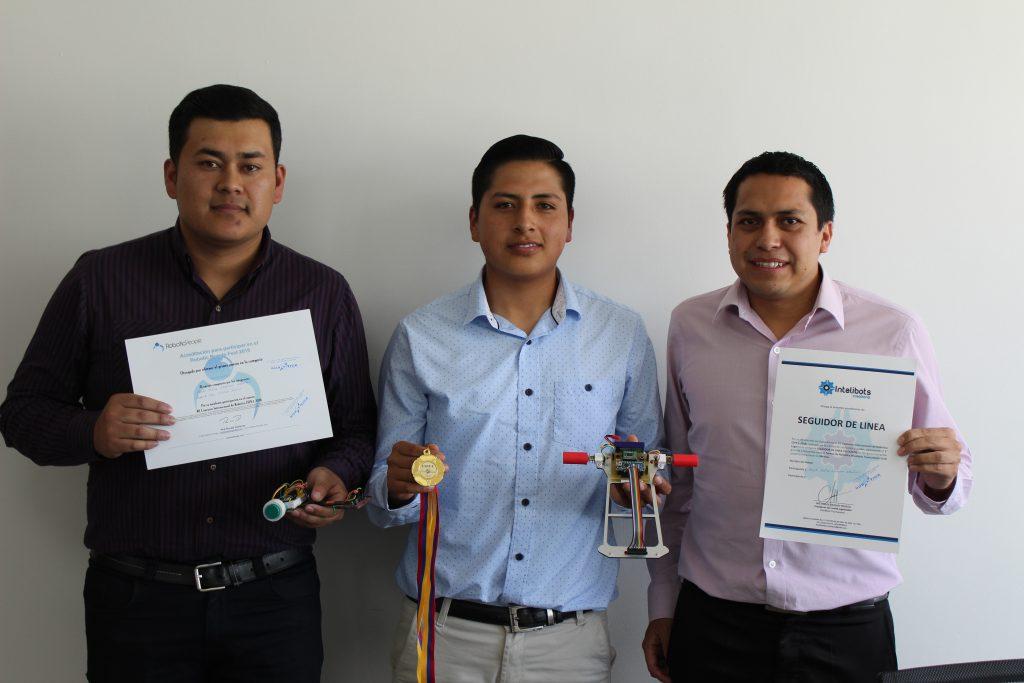 Ganadores concurso robótica