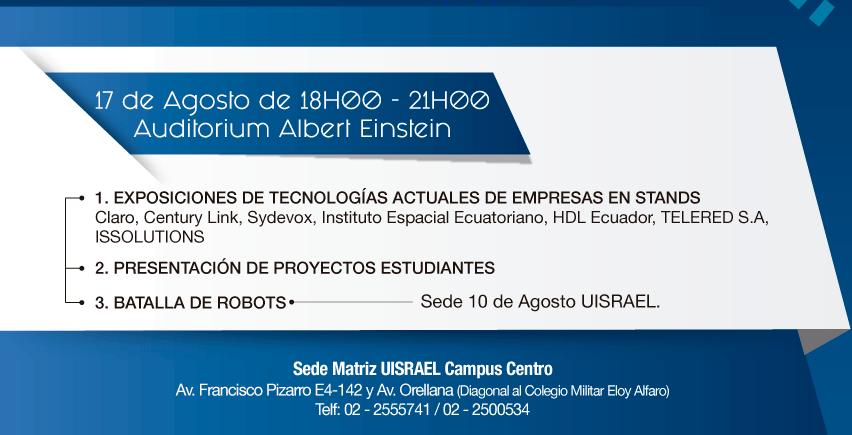 Agenda del día 2 de las Jornadas Tecnológicas 4.0