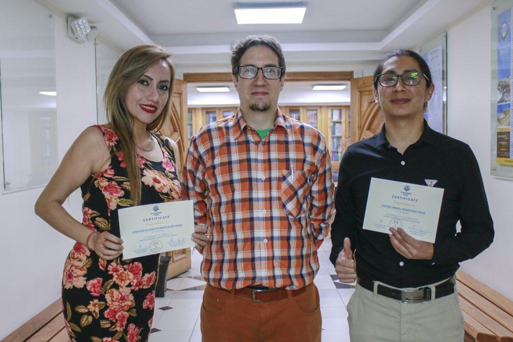 Premiados del concurso de inglés ESIEC