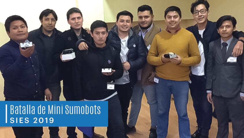 Batalla de Sumo Minibots